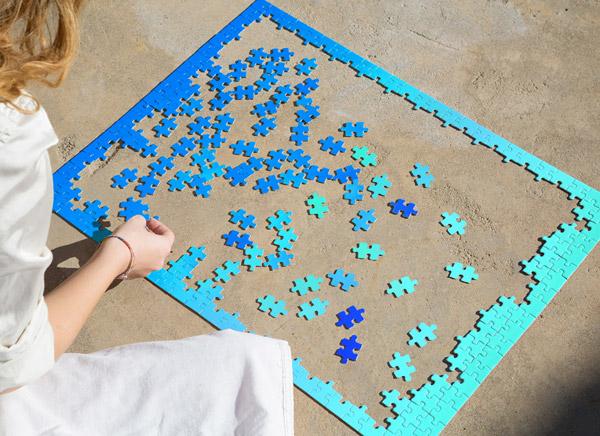 NOPE gradient puzzle